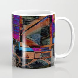 Rising From Darkness Abstract - Happiness - Inspiration Coffee Mug