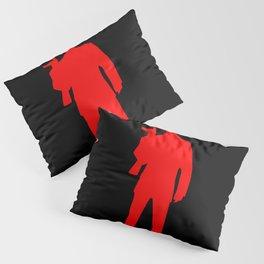mafia silhouette Pillow Sham