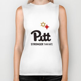 Pitt Stronger than hate Biker Tank