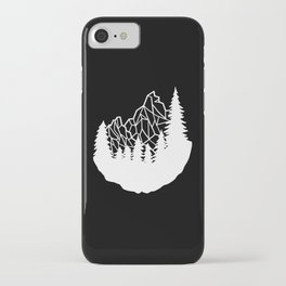 Mountain Geometry iPhone Case