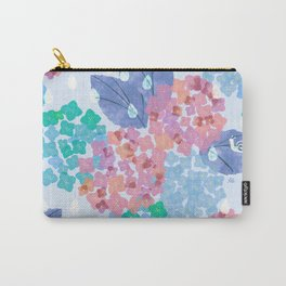 Hydrangea in the rain <quite morning> Carry-All Pouch
