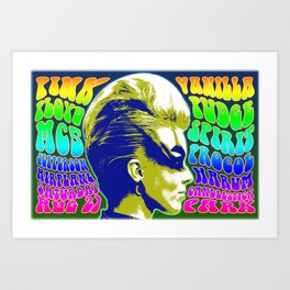 Psychedelic Music Festival Poster II Art Print
