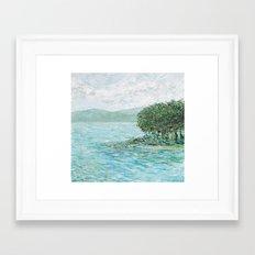 Lakeside Summer 2 Framed Art Print