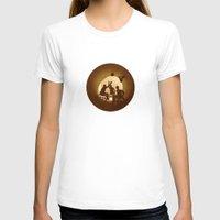 basketball T-shirts featuring Basketball by Anastassia Elias