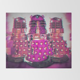 The Daleks Throw Blanket