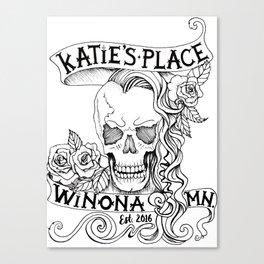 Katie's Place by DeeDee Draz Canvas Print