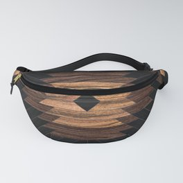 Urban Tribal Pattern No.7 - Aztec - Wood Fanny Pack