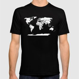 A Political Map of the World T-shirt