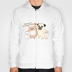 Treasure your four-legged friends Hoody
