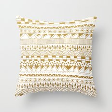 Fun (gold version) Throw Pillow