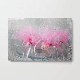 Wedding Decoration Metal Print