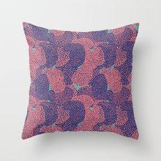 Coral #3 Throw Pillow