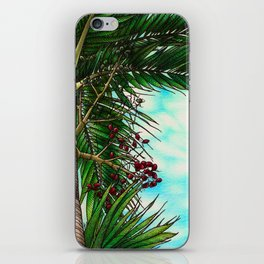 Manila Palm Tree - Hawaii iPhone Skin