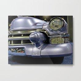 Purple Caddy Metal Print