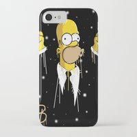 simpson iPhone & iPod Cases featuring Mr Homer Simpson by Lewismv3