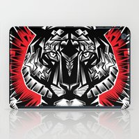 tiger iPad Cases featuring Tiger by Ali GULEC