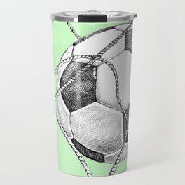 Goal in green Travel Mug