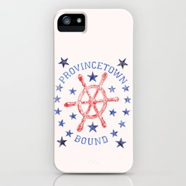 Provincetown Bound iPhone Case