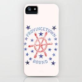 Provincetown Bound iPhone Case