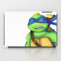 leonardo dicaprio iPad Cases featuring Leonardo by Savanity