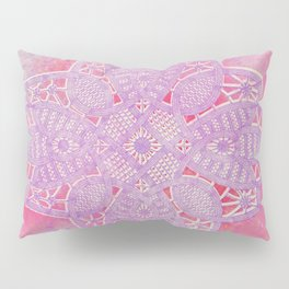 bright and sizzling lace star Pillow Sham
