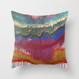 wavelengths Throw Pillow