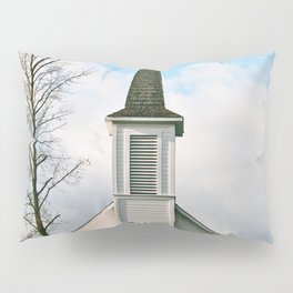 Country Church in the Mountians Pillow Sham