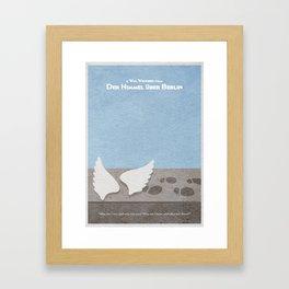 Der Himmel uber Berlin (Wings of Desire) Framed Art Print