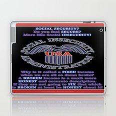 Social INsecurity Laptop & iPad Skin