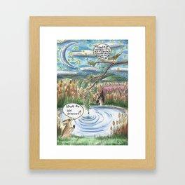 Wifi Password Framed Art Print