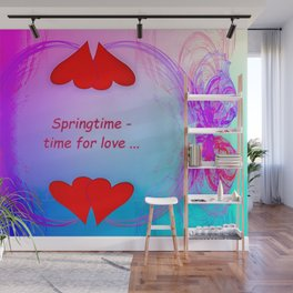 Springtime - time for love (night) ... Wall Mural