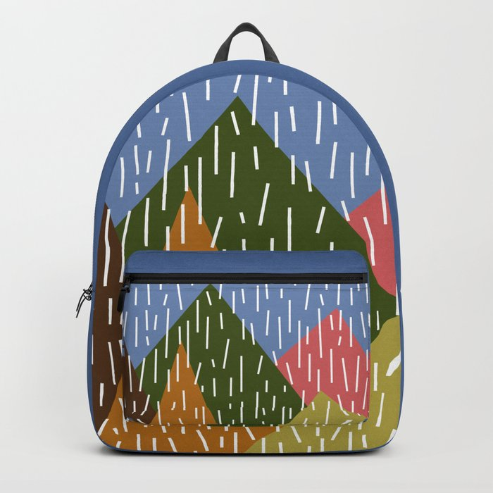 Raining Mountains Backpack