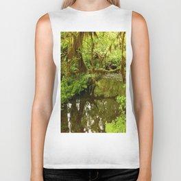 Rainforest Reflection Biker Tank