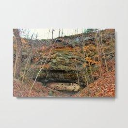 Natural bridge. Metal Print