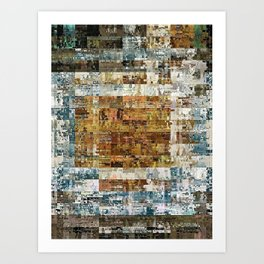 Platter Art Print