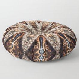 Pecan Mandala Floor Pillow