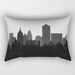 City Skylines: Bangalore Rectangular Pillow