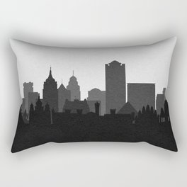 City Skylines: Bangalore Rectangular Pillow