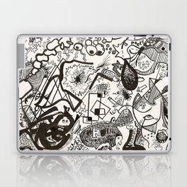 In White Laptop & iPad Skin