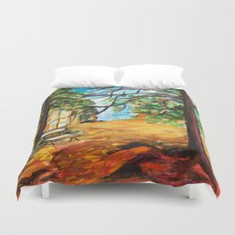 Woodland Beauty Duvet Cover
