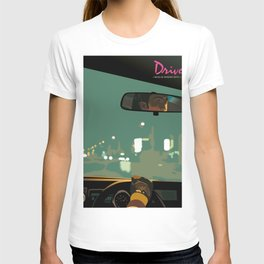 Drive movie poster T-shirt