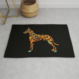 Great Dane Art Rug