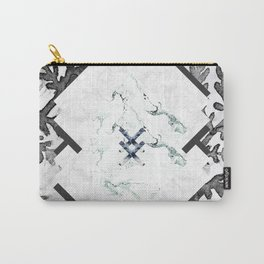 Ferns + Marble Carry-All Pouch