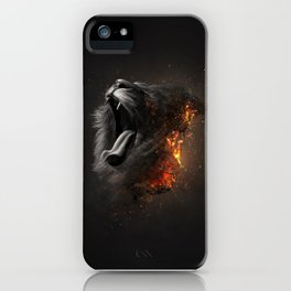 XTINCT x Lion iPhone Case