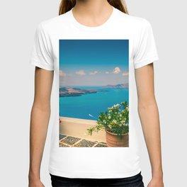 Santorini i T-shirt