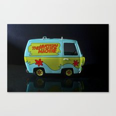 The Mystery Machine Canvas Print