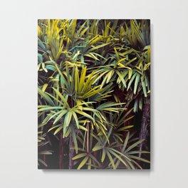 Neon Jungle - Tropical Nature Photography Metal Print