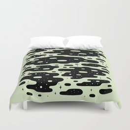 Space Blobs Duvet Cover