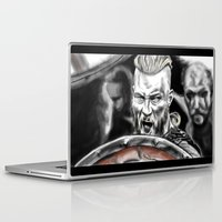 vikings Laptop & iPad Skins featuring vikings by Flyens