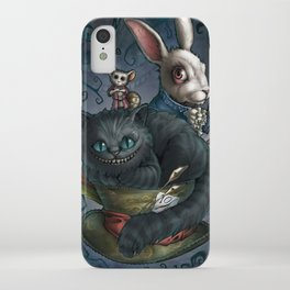 The Cheshire Cat and his friends iPhone Case